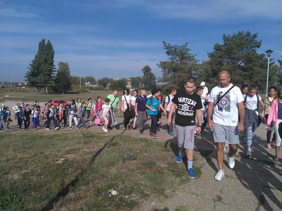 Дан пешачења у организацији планинарског клуба ПСД Цер из Шапца