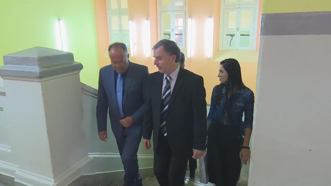 Нашу школу посетио је министар просвете Младен Шарчевић