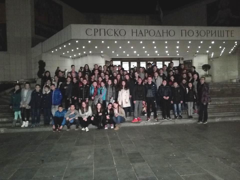 Организован одлазак ученика на балетску представу Крцко Орашчић