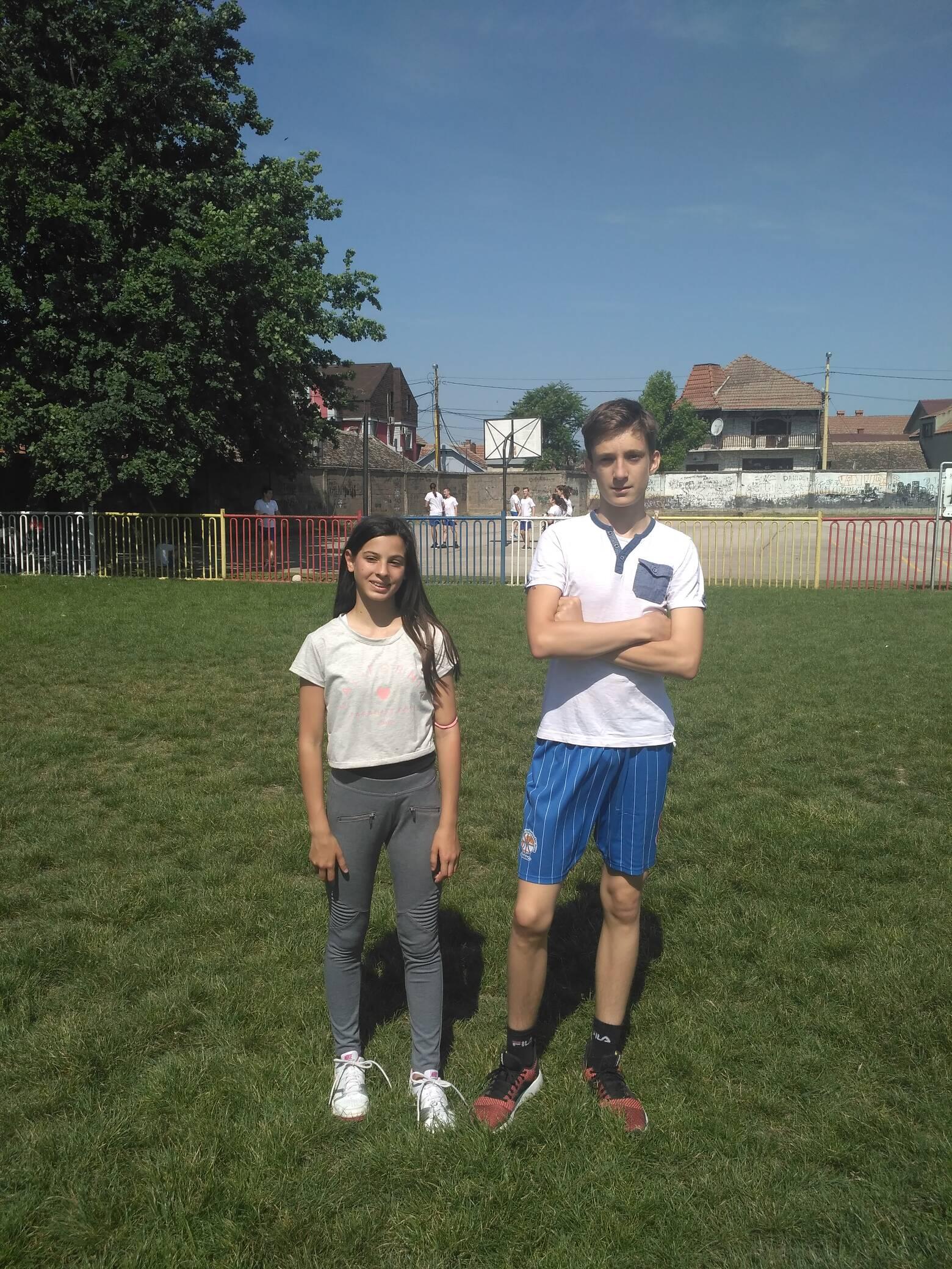 Мартина и Никола победници кроса РТС-а