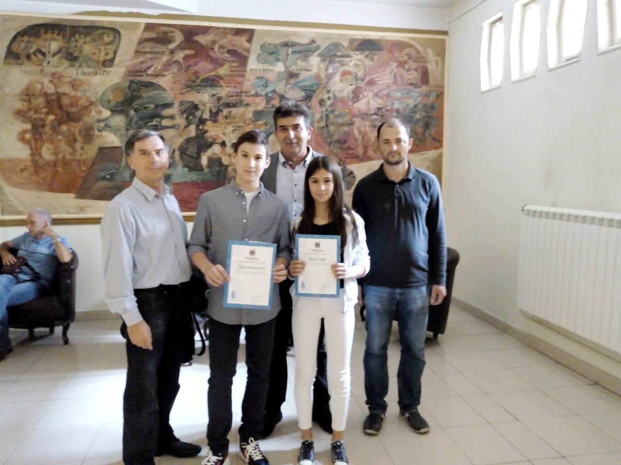 Градска управа града Шапца наградила најуспешније ученике