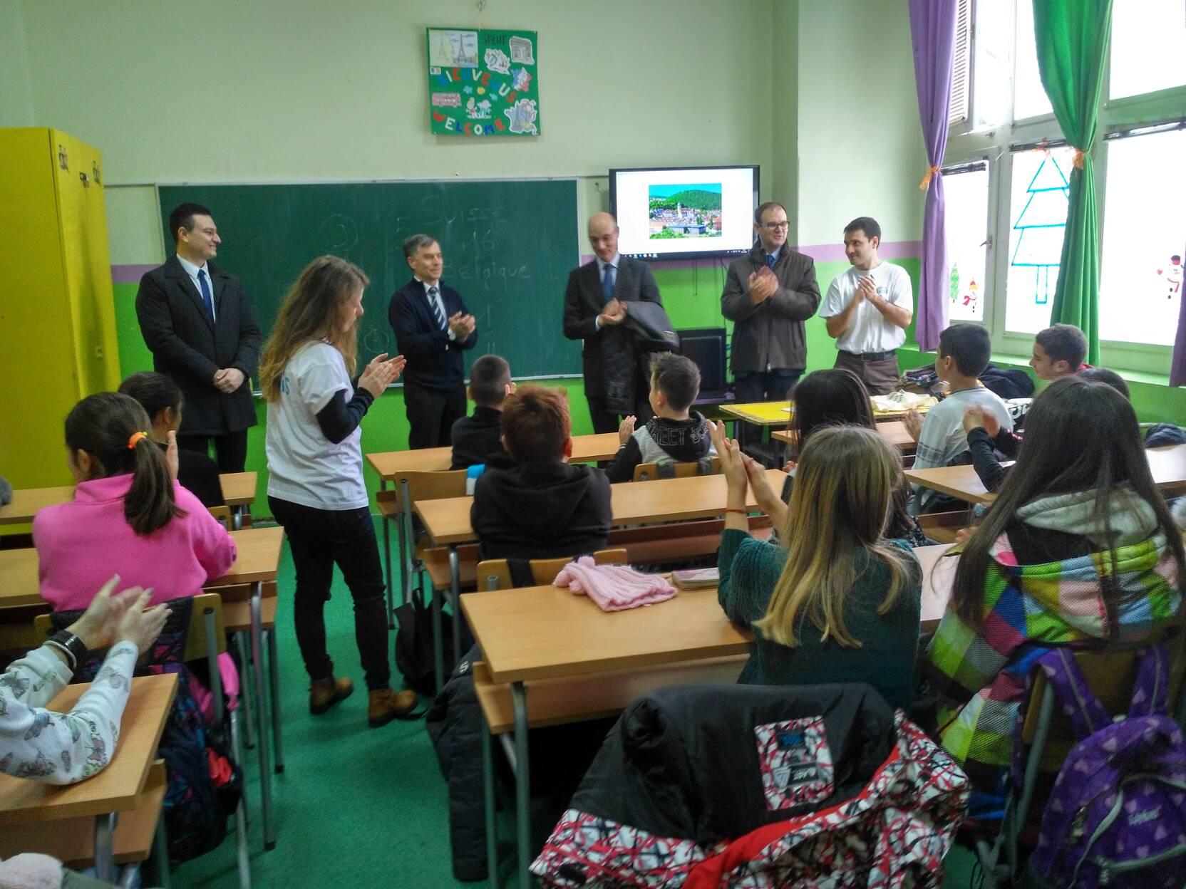 Амбасадор Француске у нашој школи
