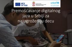 Премошћавање дигиталног јаза у Србији за најугроженију децу